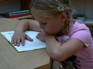 Zoe leest met plezier